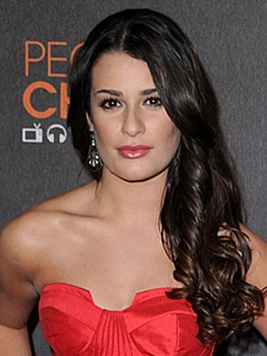 Lea Michele at the 2010 People's Choice Awards 2010-01-06 19:13:24