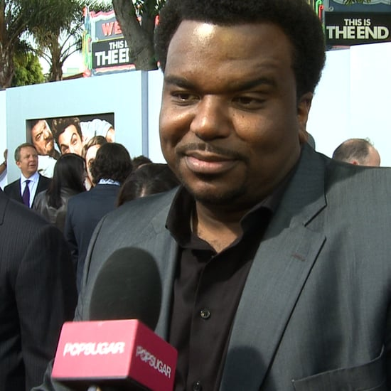 Craig Robinson Interview This Is the End Premiere   Video