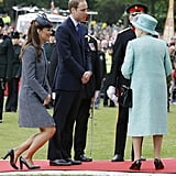 "Kate: ""I've Had Quite Enough of This Curtseying Thing, Really."""
