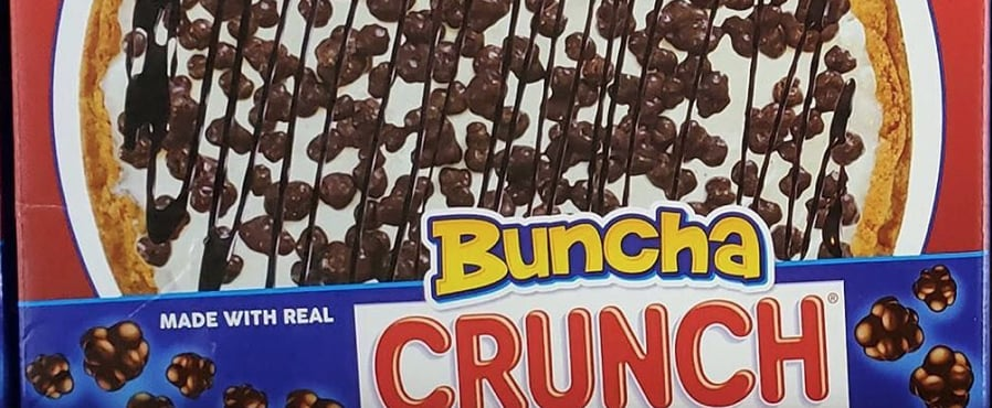 Butterfinger and Buncha Crunch Ice Cream Pizzas Exist