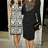 Allison Williams posed for photos with Rita Wilson.