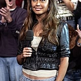 Vanessa Lachey (then Minnillo) was one of the new MTV VJs for TRL in 2003.