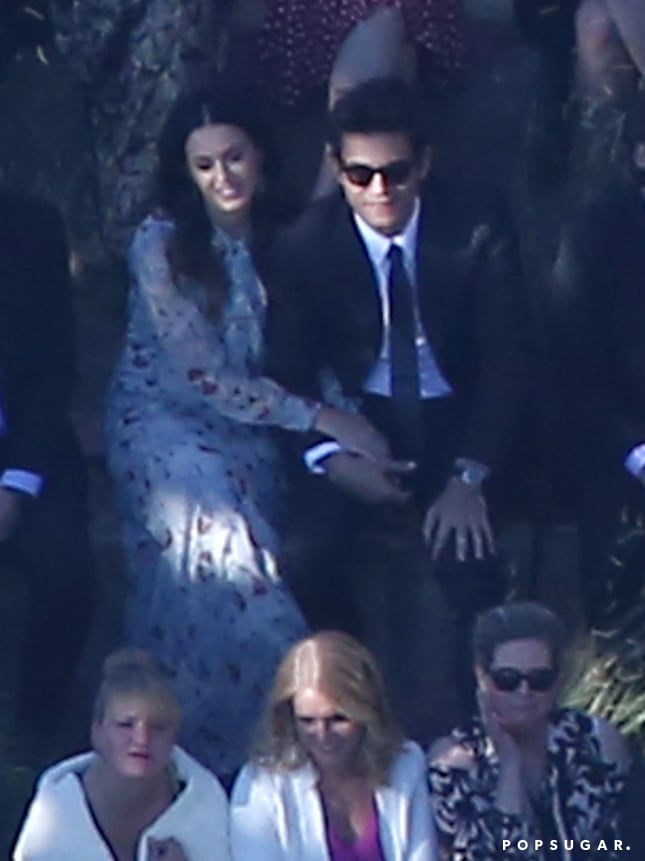 Katy Perry and John Mayer Attend Allison Williams\'s Wedding ...
