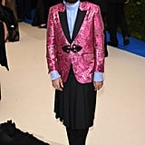Alessandro Michele at the 2017 Met Gala
