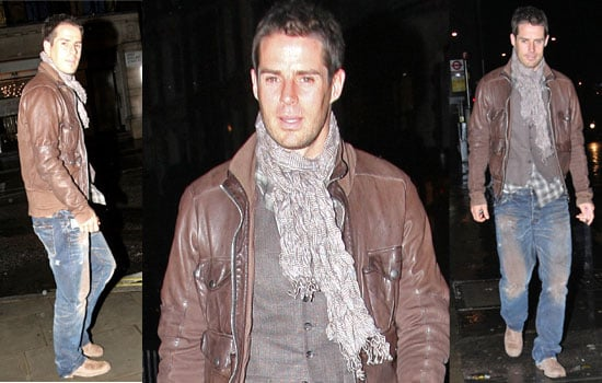 11/11/2008 Jamie Redknapp Visits Louise In Hospital After Birth Of Second Child