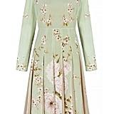 The Fold Hepburn Dress Bloom Print Silk ($695)