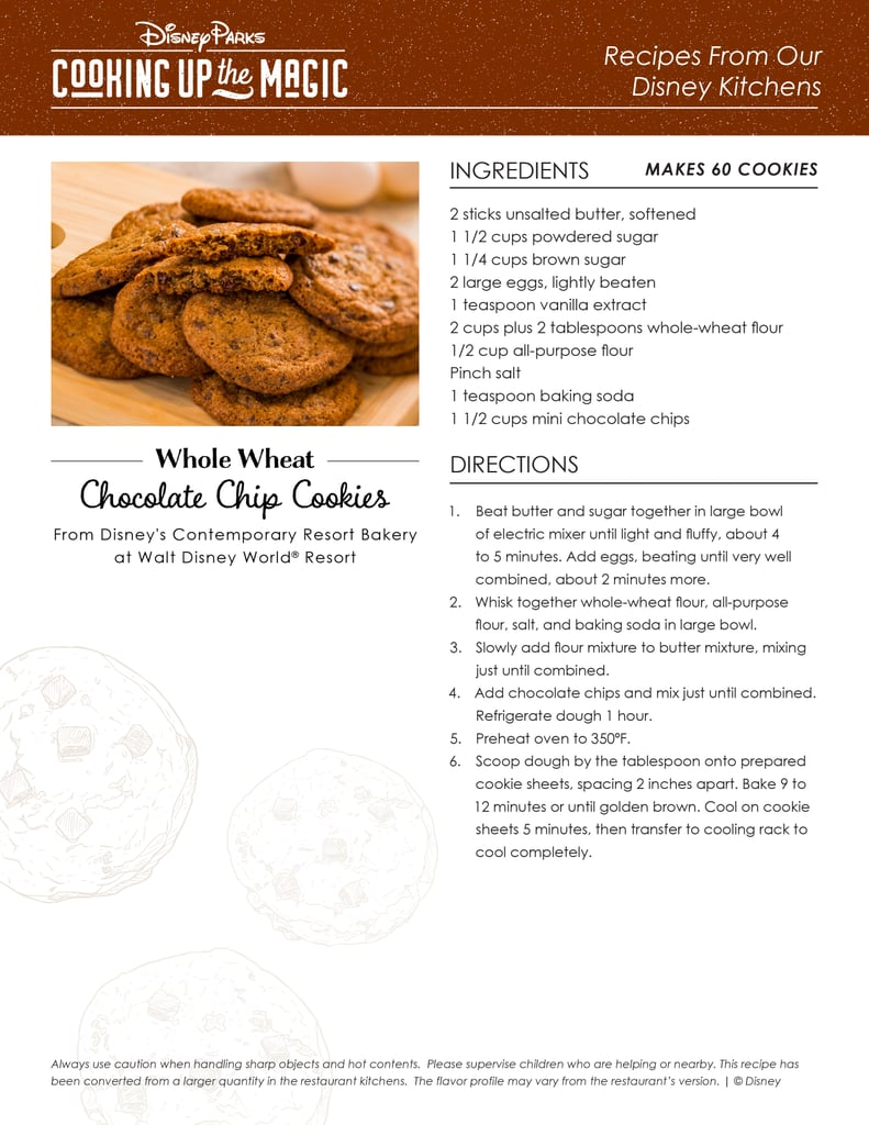 Whole-Wheat Chocolate Chip Cookies Recipe