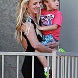 Pictures of Britney Spears Leaving a Playdate After a Court Appearance in LA