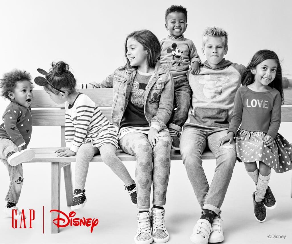 Gap Disney Clothing Line Holiday 2016