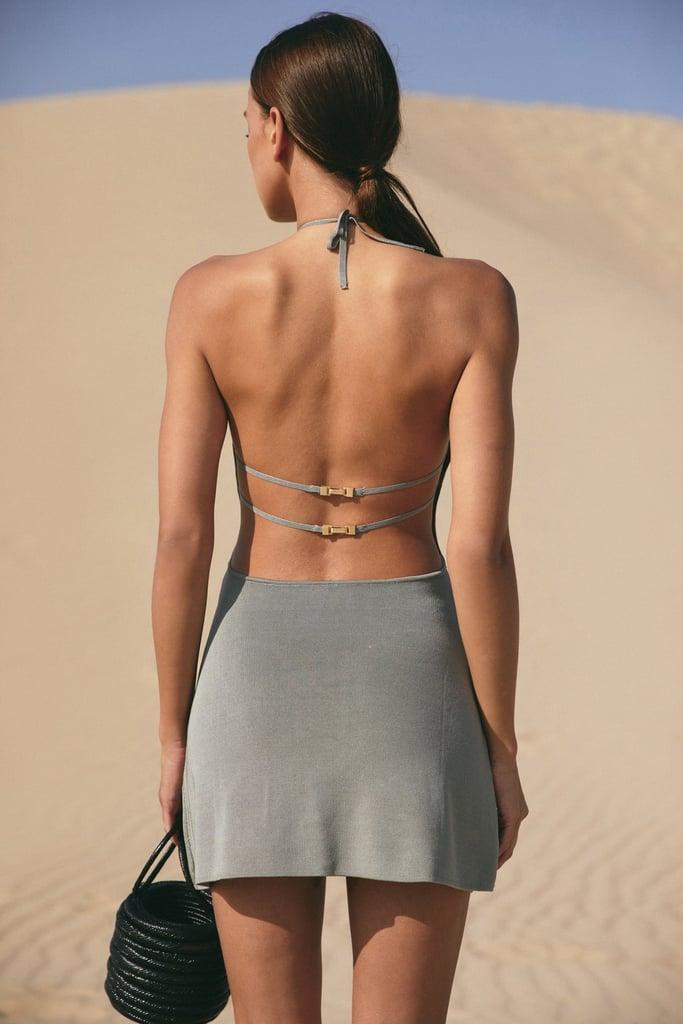 Cult Gaia Leslie Knit Dress
