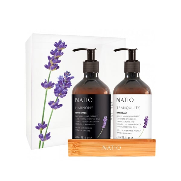 Natio Harmony Gift Set ($25) With a fragrant and floral scent, the Natio handwash and hand balm gift set makes for a beautiful present for your colleague or secret Santa.