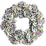 Blue Hydrangea Wreath ($50)