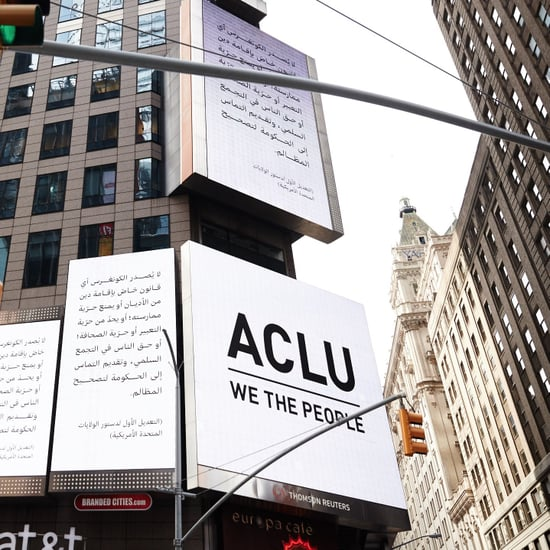 "ACLU ""We the People"" Campaign Billboards"