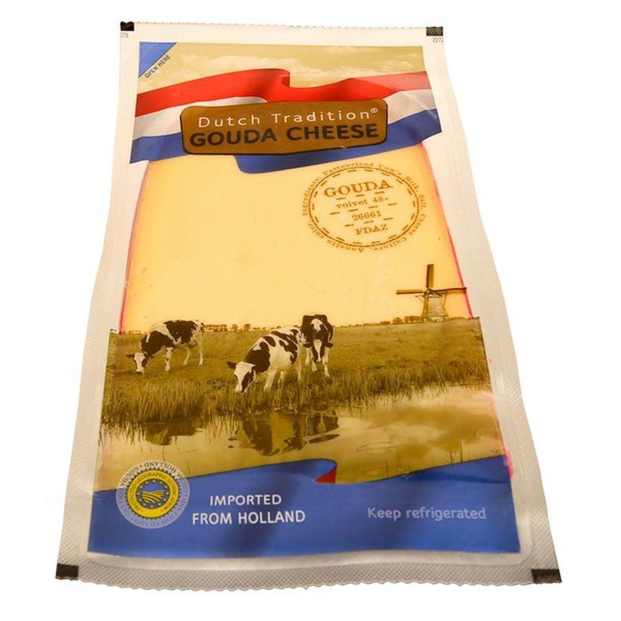 Dutch Tradition Gouda Cheese Wedge ($14)