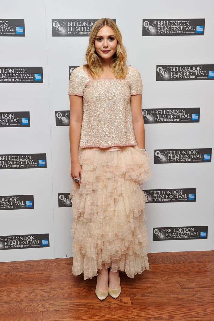 Tulle Skirt and Sequin Top? It's a Yes From Elizabeth.
