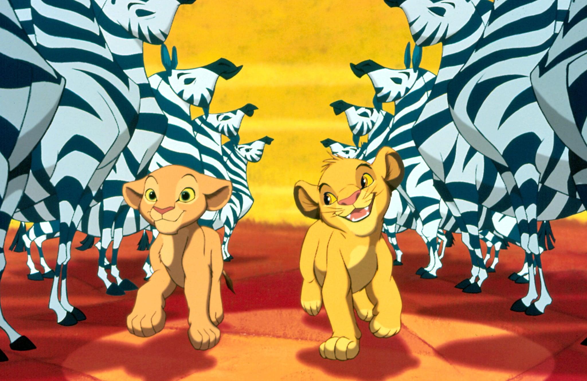 THE LION KING, Nala, Simba, 1994. Buena Vista Pictures/Courtesy Everett Collection