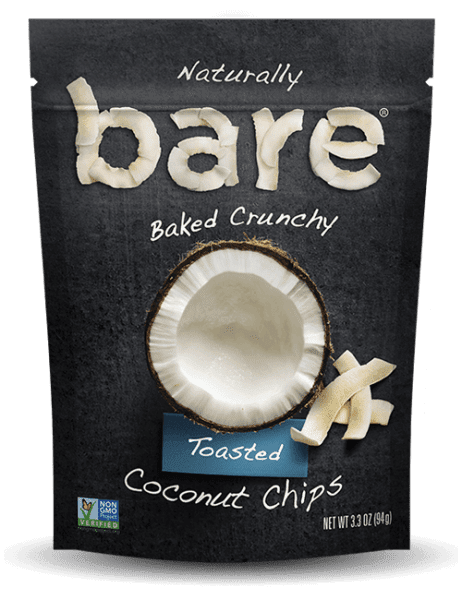 Bare Snacks Toasted Coconut Chips