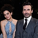 Jenny Slate and Jon Hamm
