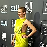 Kristen Bell Wore a Cape to the 2020 Critics' Choice Awards