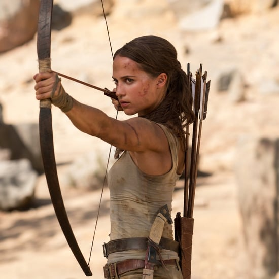 Alicia Vikander Tomb Raider Ab Workout Video