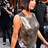 Kim Kardashian's Short Bob Haircut Photos