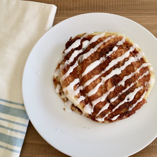 The Cheesecake Factory's Cinnamon Roll Pancakes Recipe