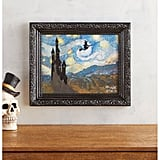 Witchy Ride Starry Night Framed Wall Art