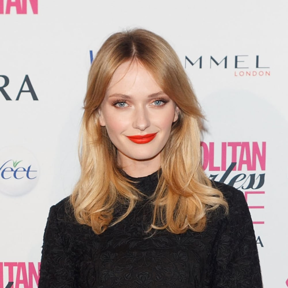 Oh, Annabella Barber, those lips! Need that colour, stat? Thought so. Try Models Own Hyper Matte Brite Lipstick in Flaming Red ($10.17); prepare to fall in love.