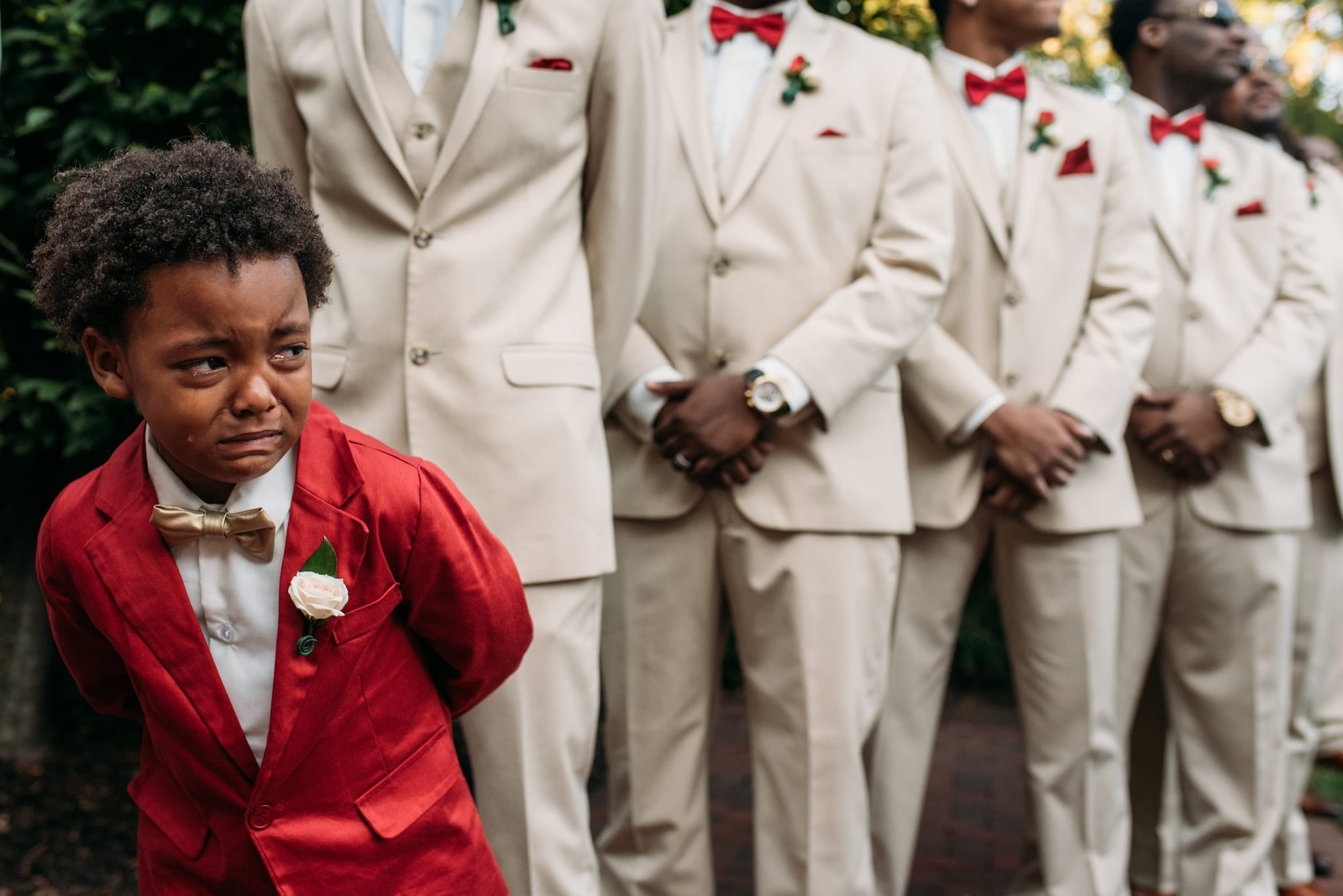 """Wedding Photographer on Prioritizing a Photo of the Bride's Son Over Her: """"This Was THE Moment"""""""