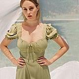 UO Cassia Puff Sleeve Mini Dress