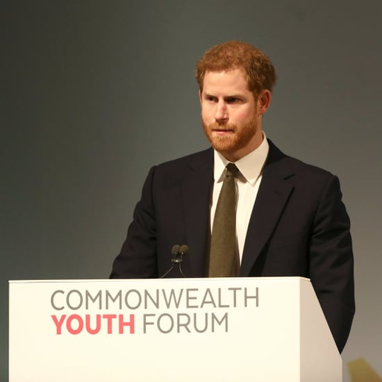 Prince Harry Mentions Meghan at Commonwealth Youth Forum
