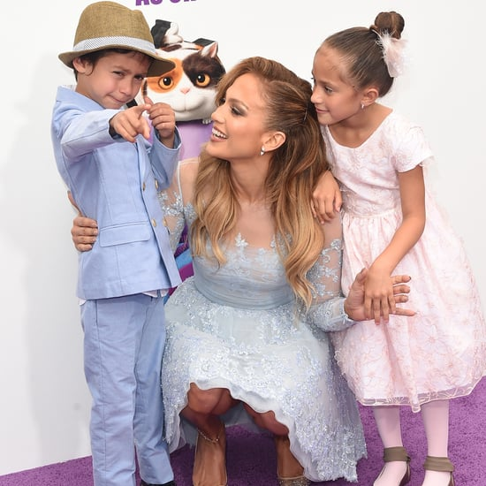 Jennifer Lopez's Twins Are Ready For Christmas