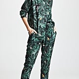 Plush Silky Jungle Print PJ Set