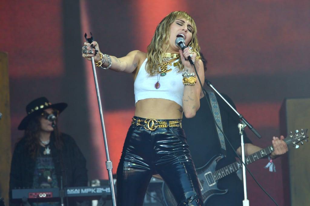 Miley Cyrus 2019 Glastonbury Performance Photos