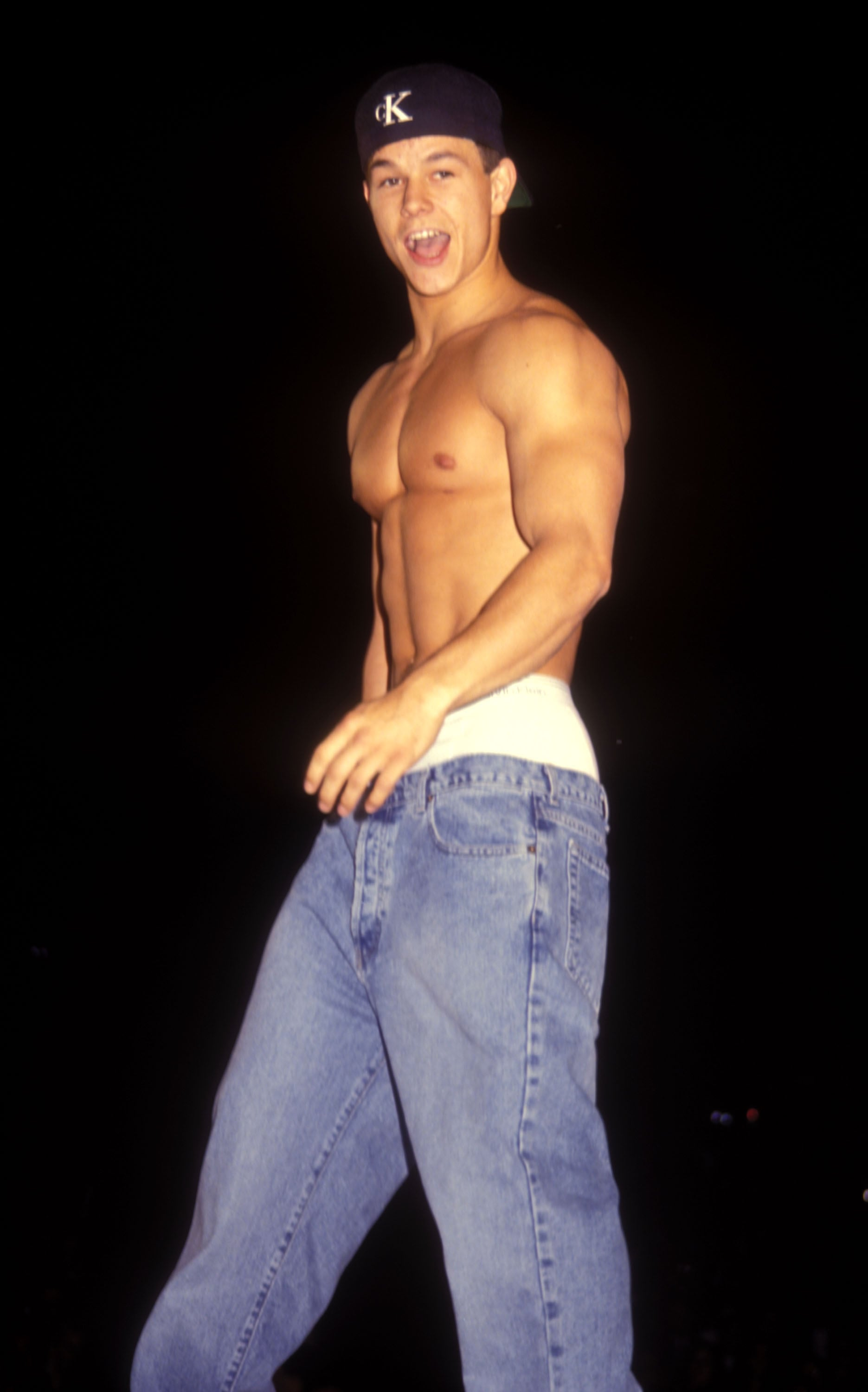 He even walked the runway for a Calvin Klein benefit show in 1995. Would you believe us if we told you he dropped his pants?