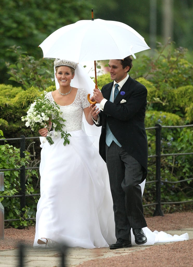 Lady Melissa Percy married Thomas van Straubenzee in Northumberland.
