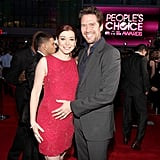 Alyson Hannigan and her husband at the People's Choice Awards.