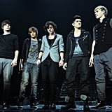 One Direction Performing in London in 2011