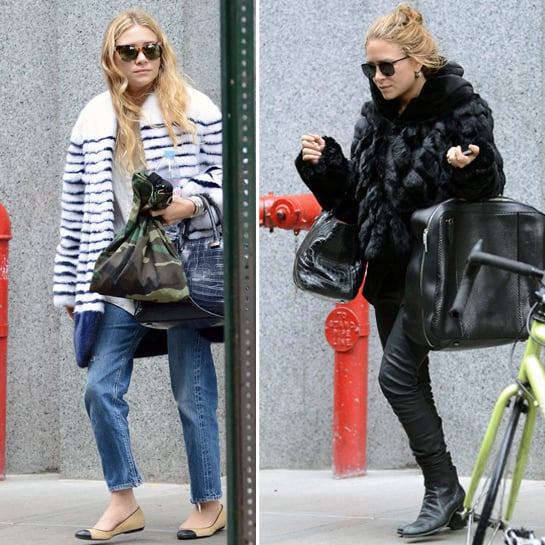 Mary-Kate and Ashley Olsen Shop in SoHo | Pictures