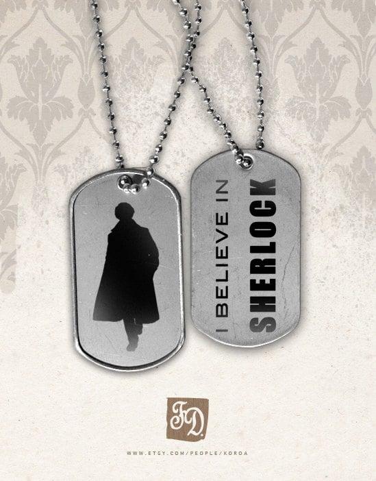 """""""I Believe in Sherlock"""" Tags ($6)"""