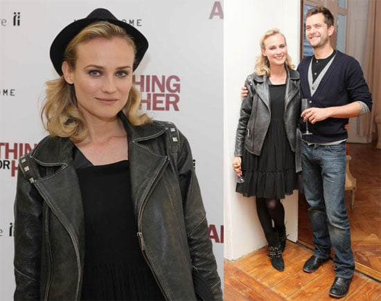 Photos of Diane Kruger and Joshua Jackson at the Premiere of Anything For Her in London