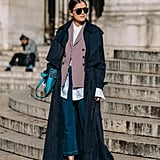Layer pieces that have different lengths for a cool, modern look like Darja Barranik's.
