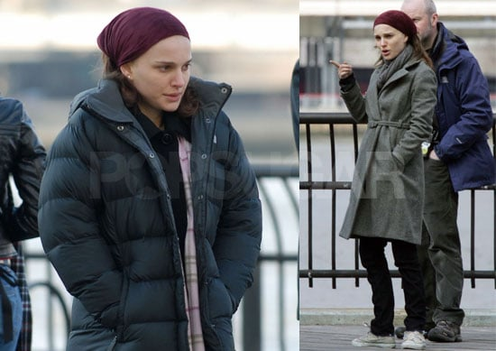 Natalie Portman On The Set Of New York, I Love You 2008-03-13 08:30:00