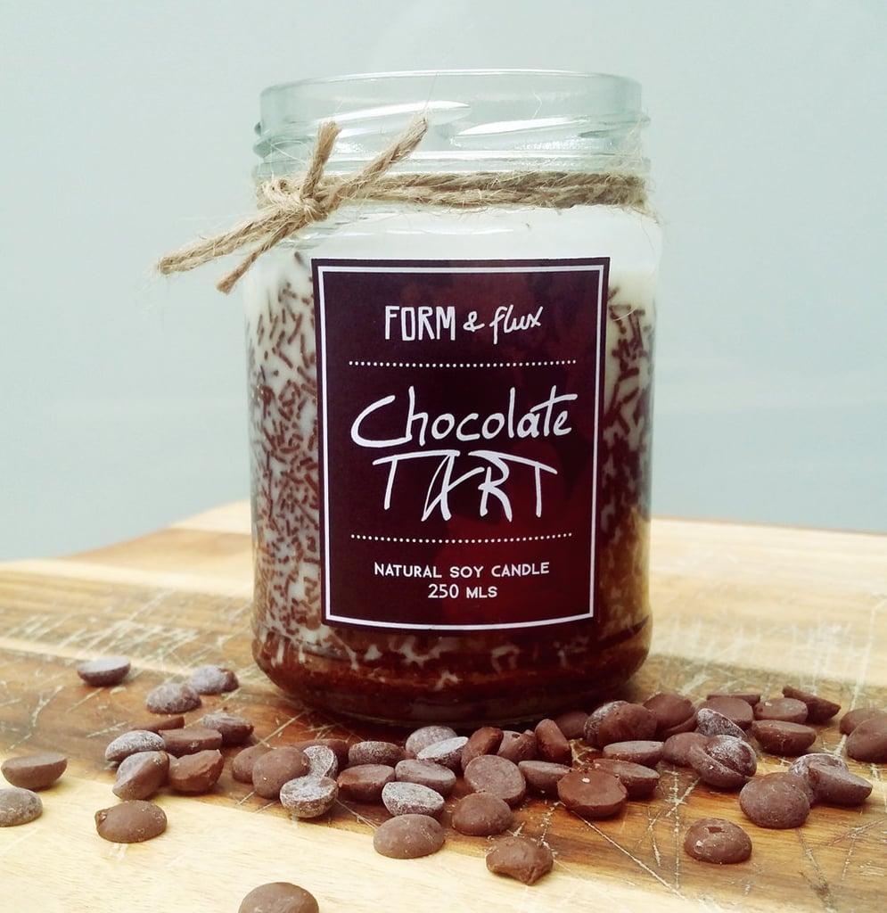 Chocolate tart candle ($17)