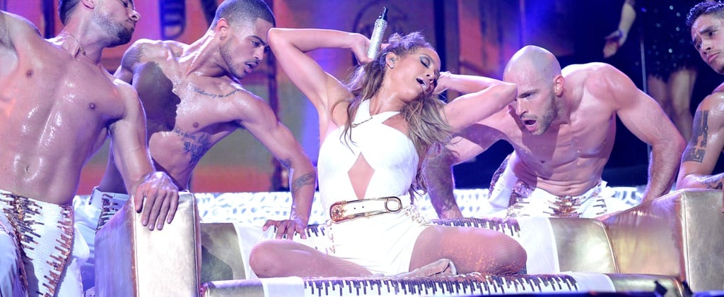 Casper Who? J Lo Returns to the Bronx With a Shirtless Entourage