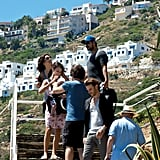 Penelope Cruz and Javier Bardem went sightseeing with Leo in Spain.