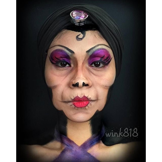 Yzma The Emperoru0026#39;s New Groove | Disney Halloween Makeup Ideas | POPSUGAR Beauty Photo 24
