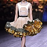A Ruffled Dress From the Louis Vuitton Fall 2020 Runway at Paris Fashion Week