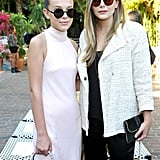 Millie Bobby Brown and Elizabeth Olsen