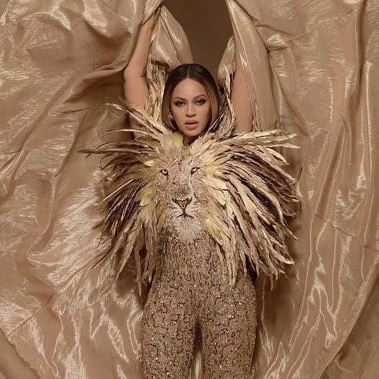 Beyoncé's Lion Jumpsuit at the 2019 Wearable Art Gala